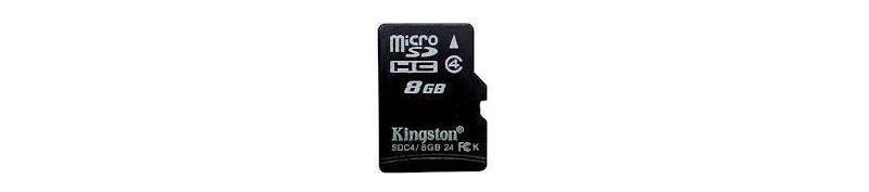 MicroSD 8 GB Kingston