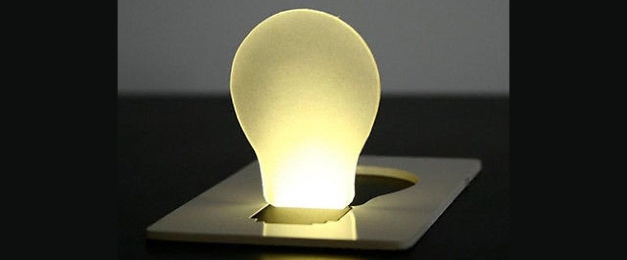 Kártya lámpa 1