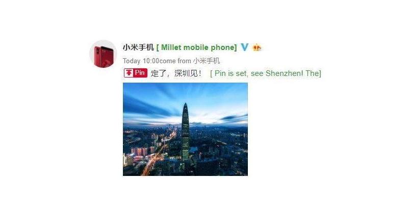 A Xiaomi új eseményt rendez Shenzhen-ben