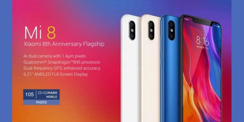 A Xiaomi Mi 8 természetesen nem fog hiányozni az európai piacról