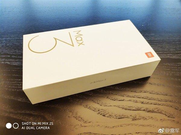 Biztosan közeledik a Xiaomi Mi Max 3 forgalmazása