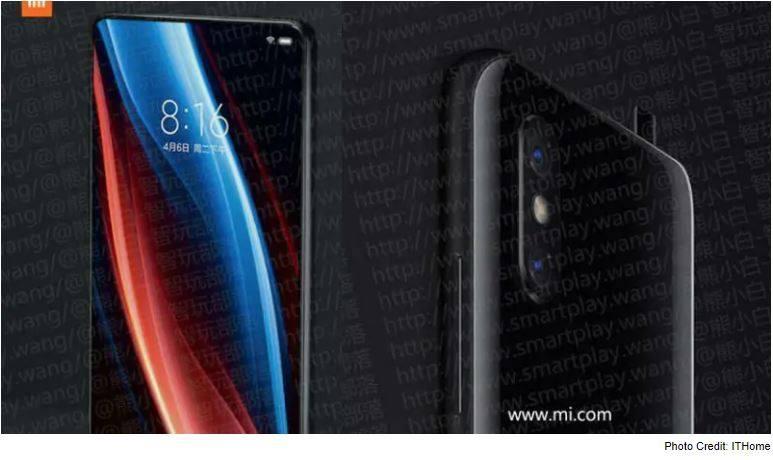 Egy kiszivárgott fotón látni a Xiaomi Mi Mix 3 méreteit és azt is, hogy valószínűleg tényleg felugró kamera lesz. (3)