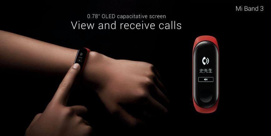 Xiaomi MiBand3 és MiBand3(NFC) (1)