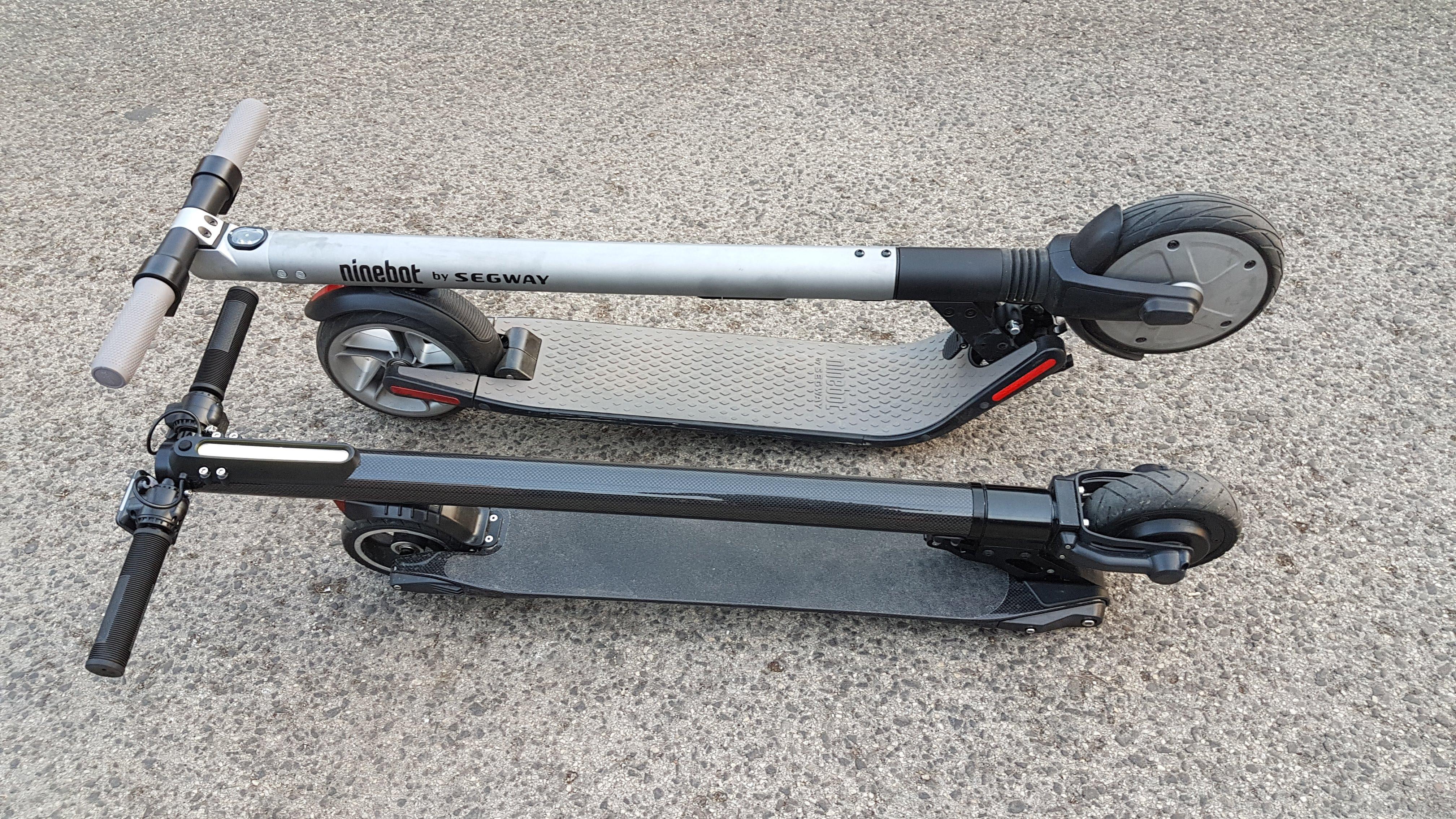 carbon-fiber-a-hordozhato-elektromos-roller-teszt-osszecsukhato-6600mAh-akkumulator-akksi-5.5-colos-kerek-34